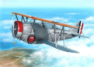 SF-1/FF-2 US Navy Scout Fighter-Trainer · SH 72244 ·  Special Hobby · 1:72