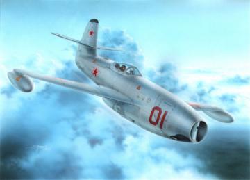 Yakowlev Yak-23 Flora Red&White Stars · SH 72248 ·  Special Hobby · 1:72
