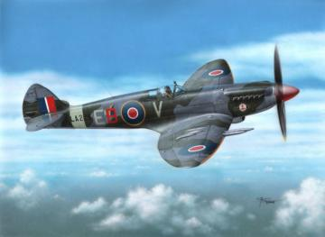 Spitfire F Mk 21 Post WWII Service · SH 72249 ·  Special Hobby · 1:72