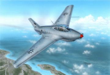 Messerschmitt Me 163C Bubble Canopy Ver · SH 72258 ·  Special Hobby · 1:72