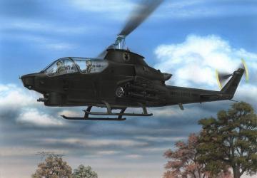 AH-1Q/S Cobra US Army & Turkey · SH 72283 ·  Special Hobby · 1:72