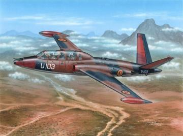 Fouga Magister Exotic Air Forces · SH 72284 ·  Special Hobby · 1:72