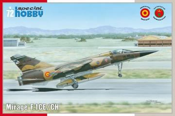 Mirage F.1 CE · SH 72289 ·  Special Hobby · 1:72