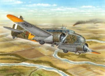 Caproni Ca.311M Italian Adventure i.Russ · SH 72309 ·  Special Hobby · 1:72