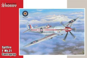 Supermarine Spitfire Mk.21 Contraprop · SH 72318 ·  Special Hobby · 1:72