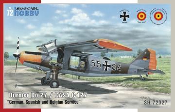 Dornier Do 27 German,Spanish and Belgian Service · SH 72327 ·  Special Hobby · 1:72