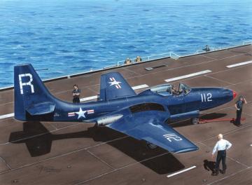 FH-1 Phantom First US NAVY Jet Fighter · SH 72332 ·  Special Hobby · 1:72