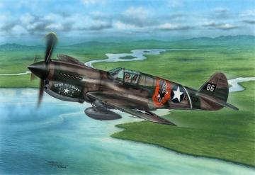 P-40E Warhawk - Claws and Teeth · SH 72338 ·  Special Hobby · 1:72