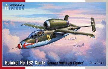 Heinkel He 162 Spatz · SH 72341 ·  Special Hobby · 1:72