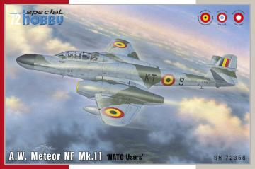 A.W. Meteor NF Mk.11 · SH 72358 ·  Special Hobby · 1:72