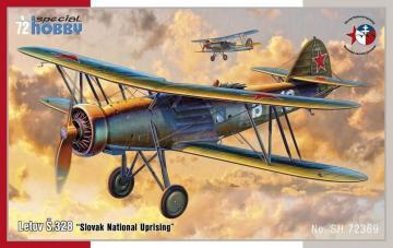 Letov S.328 - Slovak National Uprising · SH 72369 ·  Special Hobby · 1:72