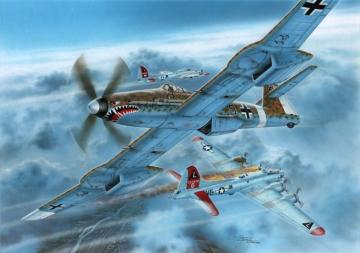 Blohm Voss BV 155B-1 Luftwaffe 46 High Altitude Fighter · SH 72372 ·  Special Hobby · 1:72
