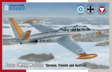 Fouga CM.170 Magister German, Finnish and Östereich · SH 72373 ·  Special Hobby · 1:72