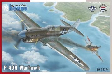 P-40N Warhawk · SH 72374 ·  Special Hobby · 1:72