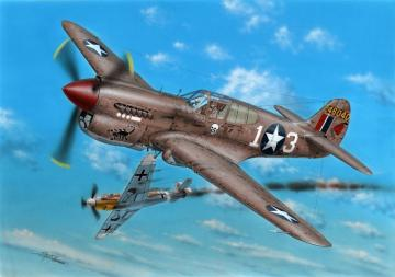 P-40K-1/5 Warhawk · SH 72379 ·  Special Hobby · 1:72