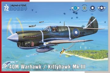 P-40M Warhawk · SH 72382 ·  Special Hobby · 1:72