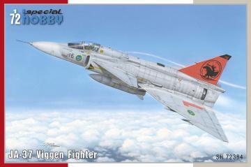 JA-37 Viggen Fighter · SH 72384 ·  Special Hobby · 1:72
