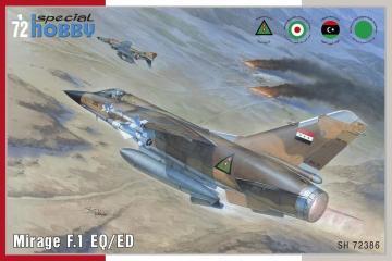 Mirage F.1 EQ/ED · SH 72386 ·  Special Hobby · 1:72