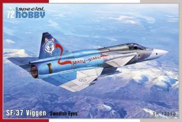 SF-37 Viggen Recce · SH 72390 ·  Special Hobby · 1:72