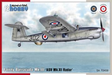 Fairey Barracuda Mk.III - ASW MK.XI Radar · SH 72408 ·  Special Hobby · 1:72