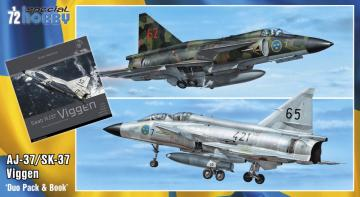 SAAB 37 Viggen Duo Pack & Book · SH 72411 ·  Special Hobby · 1:72