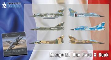 Mirage F.1 Duo Pack & Book · SH 72414 ·  Special Hobby · 1:72