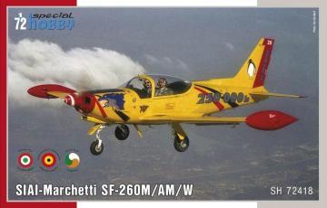 SIAI-Marchetti SF-260M/AM/W · SH 72418 ·  Special Hobby · 1:72