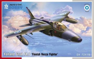 Folland Gnat FR.1 - Finnish Recce Fighter · SH 72419 ·  Special Hobby · 1:72