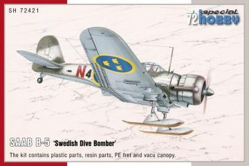 SAAB B-5 Swedish Dive Bomber · SH 72421 ·  Special Hobby · 1:72