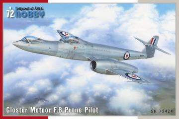 Gloster Meteor F.8 Prone Pilot · SH 72424 ·  Special Hobby · 1:72