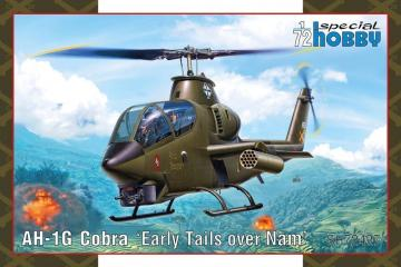 AH-1G Cobra Early Tails · SH 72427 ·  Special Hobby · 1:72