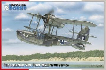 Supermarine Sea Otter Mk.I WWII Service · SH 72429 ·  Special Hobby · 1:72