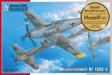 Messerschmitt Bf 109 E-4 · SH 72439 ·  Special Hobby · 1:72