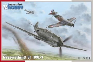 Messerschmitt Bf 109E-3 · SH 72443 ·  Special Hobby · 1:72