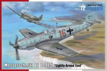 Messerschmitt Bf 109 E-1 - Lightly-Armed Emil · SH 72454 ·  Special Hobby · 1:72