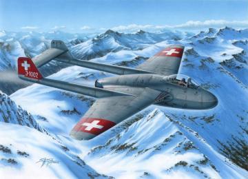 DH.100 Vampire Mk.I · SH 73229 ·  Special Hobby · 1:72