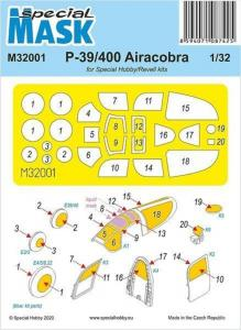 P-39 Airacobra Mask · SH M32001 ·  Special Hobby · 1:32
