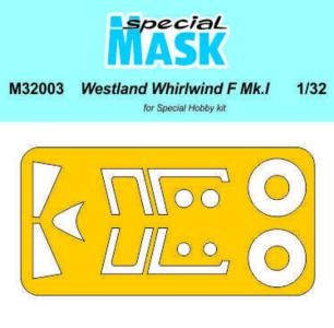 Westland Whirlwind Mk.I - Mask [Special Hobby] · SH M32003 ·  Special Hobby · 1:32