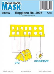 Reggiane Re.2005 Mask · SH M48002 ·  Special Hobby · 1:48