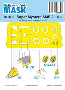 SMB-2 Super Mystere - Mask · SH M72001 ·  Special Hobby · 1:72
