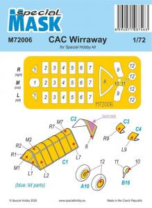 CAC Wirraway Mask von 1928 · SH M72006 ·  Special Hobby · 1:72