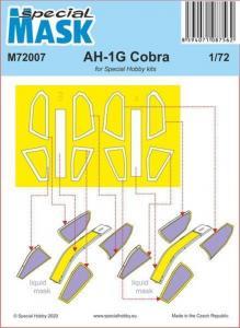 AH-1G Cobra Mask · SH M72007 ·  Special Hobby · 1:72