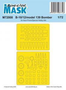 B-10/12/model 139 Bomber · SH M72008 ·  Special Hobby · 1:72