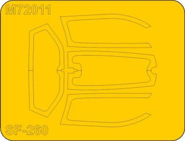 SIAI-Marchetti SF-206M/AM/W Mask · SH M72011 ·  Special Hobby · 1:72