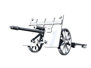 Kanon 3,7cm KPUV vz.37 (3,7cm PAK 37(t) · SH SA35001 ·  Special Hobby · 1:35