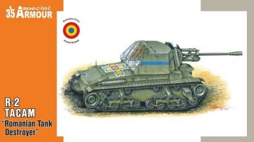 R-2 TACAM Romanian Tank Destroyer · SH SA35003 ·  Special Hobby · 1:35