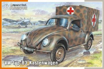 VW Typ 83 Kastenwagen · SH SA35005 ·  Special Hobby · 1:35
