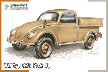 VW type 825 Pick Up · SH SA35007 ·  Special Hobby · 1:35