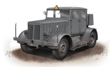 SS-100 Gigant Schwerer Radschlepper · SH SA72001 ·  Special Hobby · 1:72