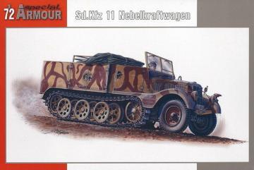 SdKfz 11/4 Nebelkraftwagen · SH SA72004 ·  Special Hobby · 1:72